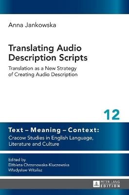 Translating Audio Description Scripts -
