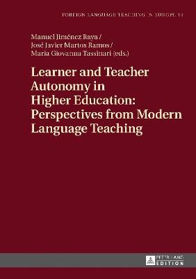 Learner and Teacher Autonomy in Higher Education: Perspectives from Modern Language Teaching - pr_37187