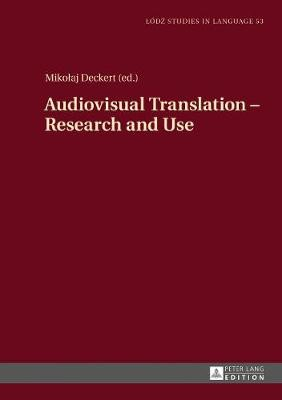 Audiovisual Translation - Research and Use - pr_32594