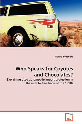 Who Speaks for Coyotes and Chocolates? - pr_37173