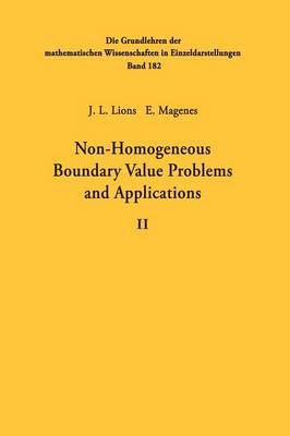 Non-Homogeneous Boundary Value Problems and Applications - pr_1751077