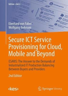 Secure ICT Service Provisioning for Cloud, Mobile and Beyond - pr_262243