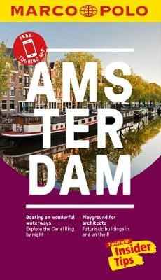 Amsterdam Marco Polo Pocket Travel Guide - with pull out map - pr_237961