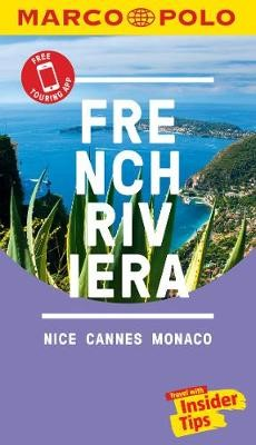 French Riviera Marco Polo Pocket Travel Guide - with pull out map - pr_237969