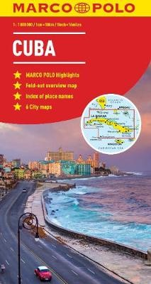 Cuba Map -