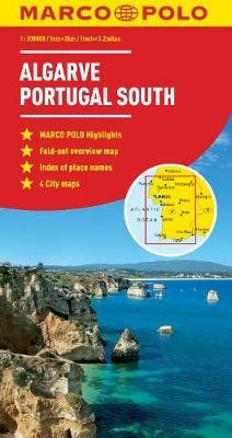 Algarve, Portugal South Marco Polo Map - pr_211008