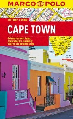Cape Town Marco Polo City Map - pr_35415