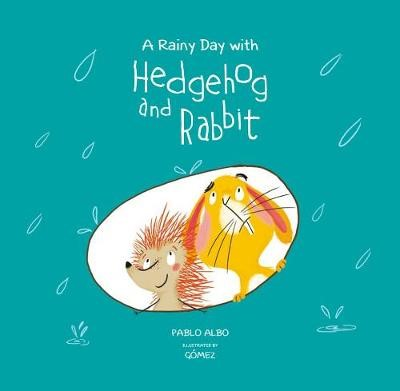 A Rainy Day with Hedgehog and Rabbit - pr_35195