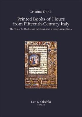 Printed Books of Hours from Fifteenth-Century Italy - pr_62711