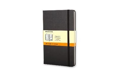 Moleskine Large Ruled Hardcover Notebook Black - pr_32564