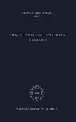 Phenomenological Psychology - pr_18605