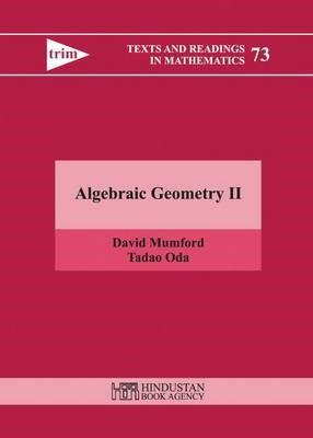 Algebraic Geometry II -