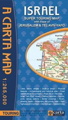 Israel Super Touring Map -
