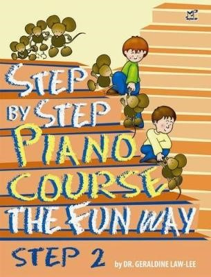 Step By Step Piano Course The Fun Way 2 -