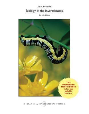 BIOLOGY OF THE INVERTEBRATES -