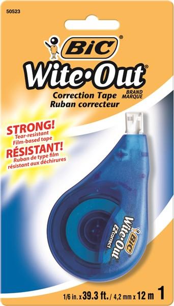 Bic Correction Tape 5mm X 12m HS -