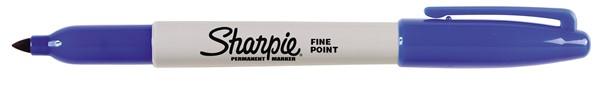 Sharpie Marker Permanent Fine Blue -