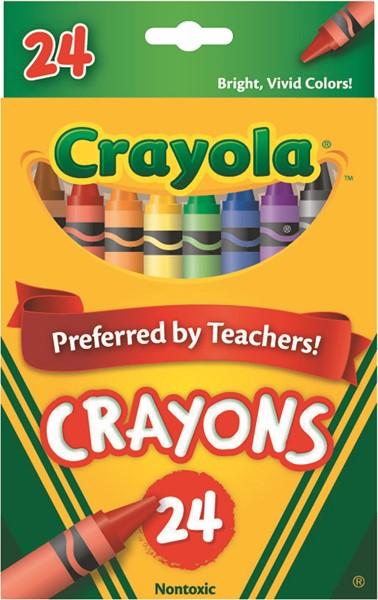 Crayola Crayons 24 Pack - pr_400392
