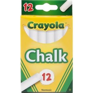 Crayola Chalk White 12 Pack