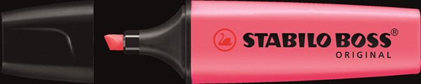 Stabilo Boss Highlighter Pink -