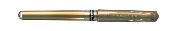 Uni-Ball Gel Pen Medium Signo Broad Gold - pr_427278