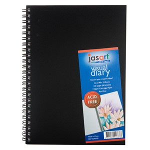Jasart Visual Diary Spiral A5