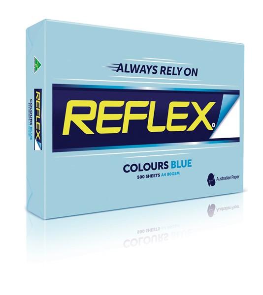 Reflex Copy Paper Tints A4 80gsm Ream of 500 Sheets - Blue  -