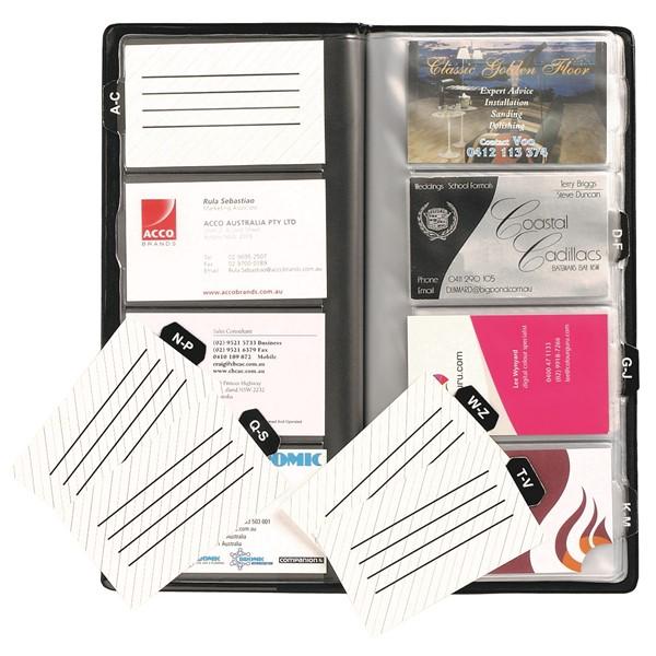 Marbig Business Card Holder 96 Cards Black - pr_1702772