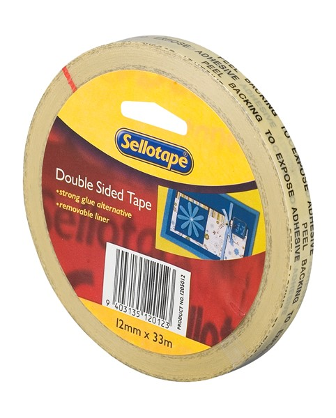 Sellotape Tape Double Sided 12mmx33m - pr_427293