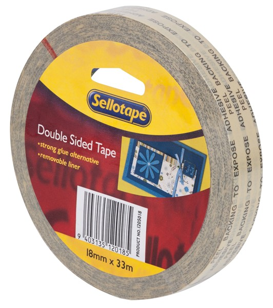 Sellotape Tape Double Sided 18mmx33m - pr_1702211