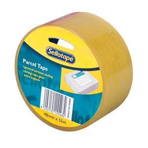 Sellotape Packaging Tape Polypropylene 48mmx55m Clear