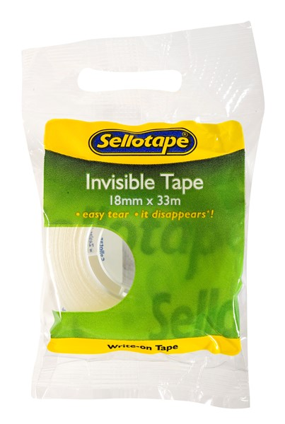 Sellotape Tape Invisible 18mmx33m - pr_427294
