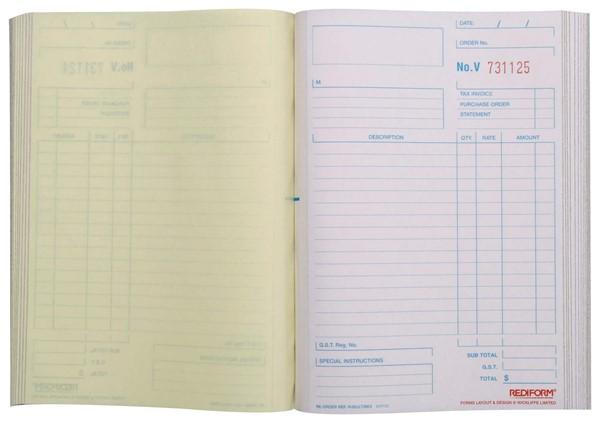 Rediform Account Book Multipurpose Triplicate 50 Pages - pr_1773072
