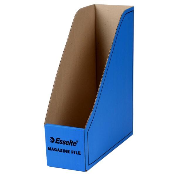 Esselte Magazine File Cardboard Blue - pr_1702452