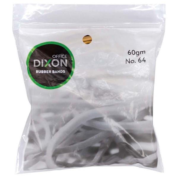 Dixon Rubber Bands 60gm No.64 -