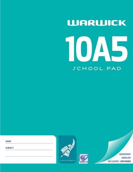 Warwick Pad 10A5 Newsprint 100lf - pr_400479