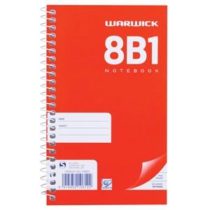 Warwick Notebook 8B1 Spiral 7mm 50lf
