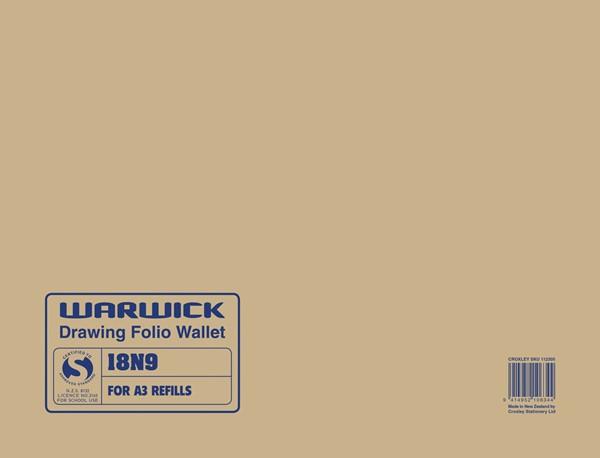 Warwick Drawing Wallet 18N9 A3 -