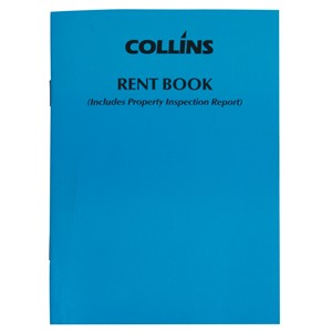 Collins Rent Book 105x148mm 12 Pages