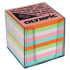 Olympic Memo Cube Full Height Complete