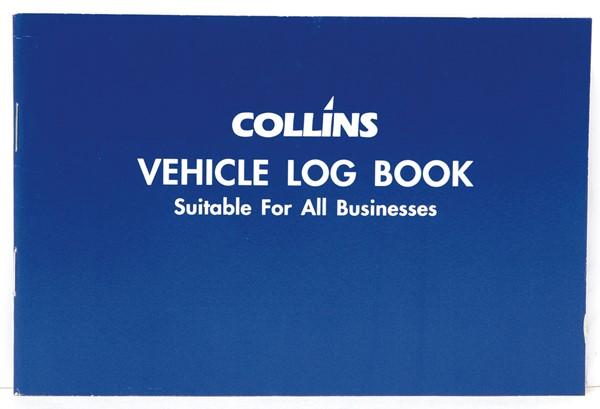 Collins Log Book Vehicle Limp 115x170mm 24 Pages - pr_1772908
