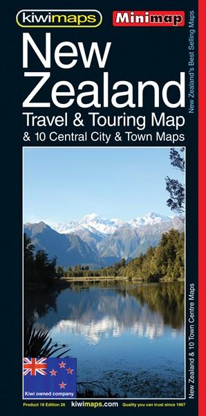 Minimap New Zealand Travel & Touring Map  -