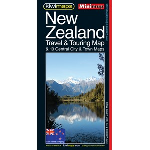 Minimap New Zealand Travel & Touring Map