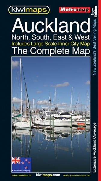 Metromap Auckland Complete - pr_1700937