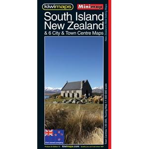 Minimap South Island New Zealand
