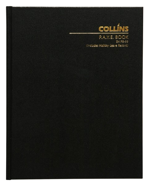 Collins Wage Book B4 Hardcover 112 Pages - pr_1702611