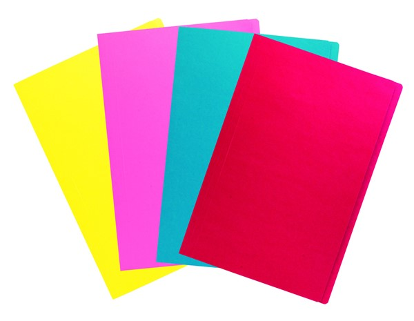 Marbig Manilla Folder Foolscap Assorted Colours Single -