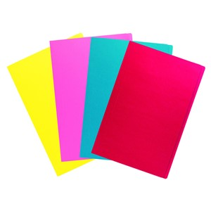 Filemaster Manilla Folders Foolscap Assorted Colours Single