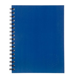 Spirax 512 Hardcover Notebook A4 200 Pages Blue