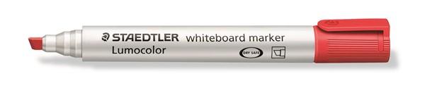 Staedtler Lumocolour Whiteboard Marker Chisel Tip Red -